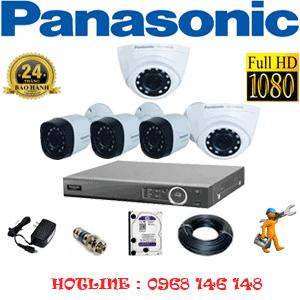 Lắp Đặt Trọn Bộ 5 Camera Panasonic 2.0Mp (Pan-22334)-PAN-22334