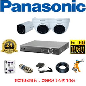 Lắp Đặt Trọn Bộ 3 Camera Panasonic 2.0Mp (Pan-22516)-PAN-22516