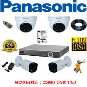 Lắp Đặt Trọn Bộ 4 Camera Panasonic 2.0Mp (Pan-22526)-PAN-22526