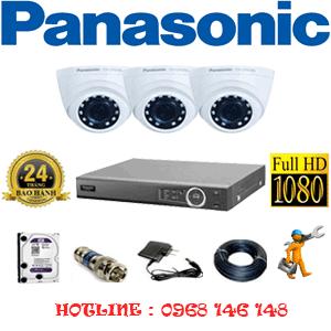 Lắp Đặt Trọn Bộ 3 Camera Panasonic 2.0Mp (Pan-23300)-PAN-23300
