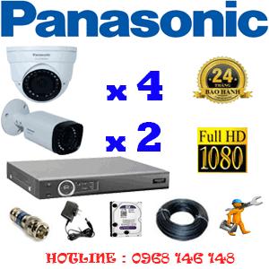 Lắp Đặt Trọn Bộ 6 Camera Panasonic 2.0Mp (Pan-24526)-PAN-24526