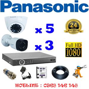 Lắp Đặt Trọn Bộ 8 Camera Panasonic 2.0Mp (Pan-25334)-PAN-25334