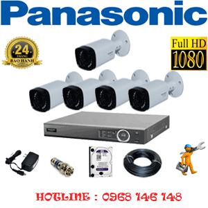 Lắp Đặt Trọn Bộ 5 Camera Panasonic 2.0Mp (Pan-25600)-PAN-25600