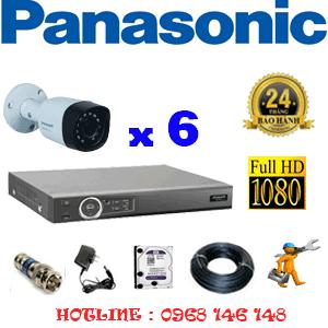 Lắp Đặt Trọn Bộ 6 Camera Panasonic 2.0Mp (Pan-26400)-PAN-26400