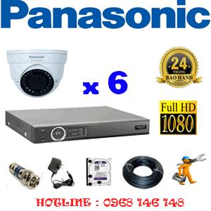 Lắp Đặt Trọn Bộ 6 Camera Panasonic 2.0Mp (Pan-26500)-PAN-26500