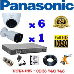 Lắp Đặt Trọn Bộ 7 Camera Panasonic 2.0Mp (Pan-26516)-PAN-26516