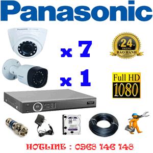 Lắp Đặt Trọn Bộ 8 Camera Panasonic 2.0Mp (Pan-27314)-PAN-27314