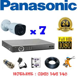 Lắp Đặt Trọn Bộ 7 Camera Panasonic 2.0Mp (Pan-27400)-PAN-27400