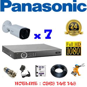 Lắp Đặt Trọn Bộ 7 Camera Panasonic 2.0Mp (Pan-27600)-PAN-27600
