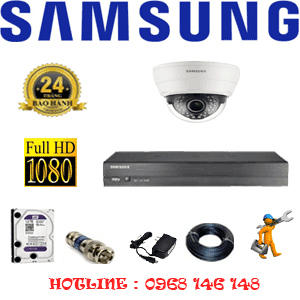 TRỌN BỘ 1 CAMERA IP SAMSUNG 2.0MP (SAM-21100)-SAM-21100
