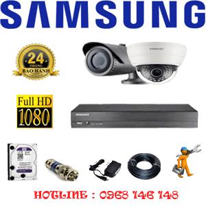 Lắp Đặt Trọn Bộ 2 Camera Ip Samsung 2.0Mp (Sam-21112)-SAM-21112