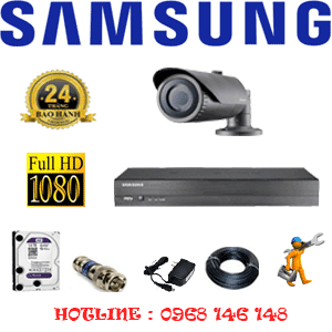 TRỌN BỘ 1 CAMERA IP SAMSUNG 2.0MP (SAM-21200)-SAM-21200