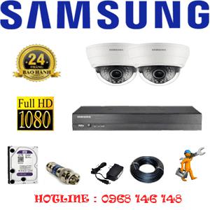Lắp Đặt Trọn Bộ 2 Camera Ip Samsung 2.0Mp (Sam-22100)-SAM-22100