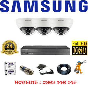 Lắp Đặt Trọn Bộ 3 Camera Ip Samsung 2.0Mp (Sam-23100)-SAM-23100