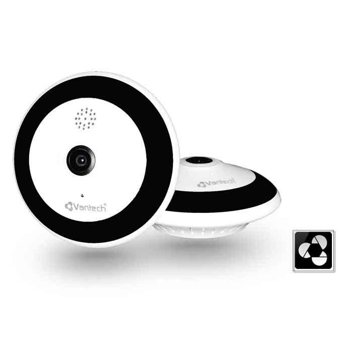 Camera Wifi 360º Phanoramic 3.0Mp Vantech V2060B-V2060B