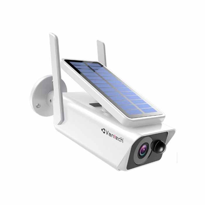 Camera Wifi Dùng Pin Năng Lượng Mặt Trời 2.0Mp Vantech Vp-Sp8300Pir-VP-SP8300PIR
