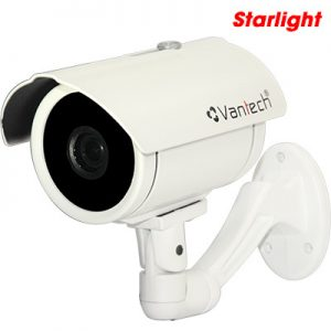 Camera Hdcvi Starlight 2.3Mp Vantech Vp-200Ssc-VP-200SSC