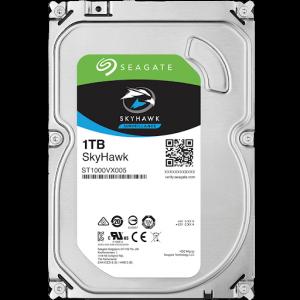 Ổ Cứng Hdd Seagate Skyhawk 1Tb 3.5″ Sata 3 – St1000Vx005-Ổ cứng HDD Camera Seagate Skyhawk 1TB SATA (ST1000VX005)