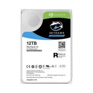 Ổ Cứng Hdd Seagate Skyhawk Ai 12Tb 3.5″ Sata (St12000Ve0008)-Ổ cứng HDD Camera Seagate Skyhawk AI 12TB Sata (ST12000VE0008)