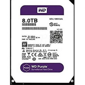 Ổ Cứng Hdd Western Digital Purple 8Tb 3.5″ Sata 3 – Wd80Purz-Ổ cứng HDD Camera WD Purple 8TB Sata3 5400rpm (WD80PURX)