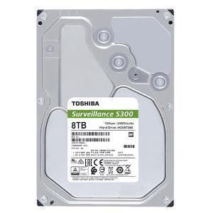 Ổ Cứng Hdd Toshiba S300 Surveillance 8Tb 3.5″ Sata 3 – Hdwt380Uzsva-Ổ cứng HDD Toshiba S300 Surveillance 8TB SATA 7200RPM 256MB (HDWT380UZSVA)