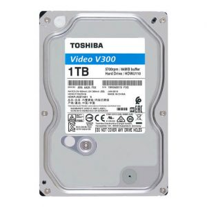 Ổ Cứng Hdd Toshiba V300 1Tb 3.5″ Sata 3 – Hdwu110Uzsva-Ổ cứng HDD Toshiba V300 Video Streaming 1TB SATA 5700RPM 64MB (HDWU110UZSVA)