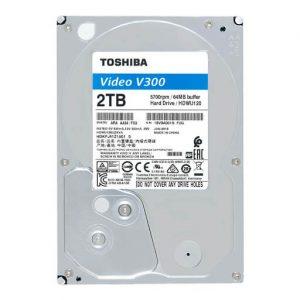 Ổ Cứng Hdd Toshiba V300 2Tb 3.5″ Sata 3 – Hdwu120Uzsva-Ổ cứng HDD Toshiba V300 Video Streaming 2TB SATA 5700RPM 64MB (HDWU120UZSVA)