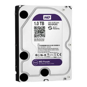 Ổ Cứng Hdd Western Digital Purple 1Tb 3.5″ Sata 3 – Wd10Purz-HDD Western Digital Purple 1TB - WD10PURZ