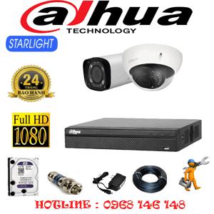 Lắp Đặt Trọn Bộ 2 Camera Dahua 2.0Mp (Dah-2117118)-DAH-2117118