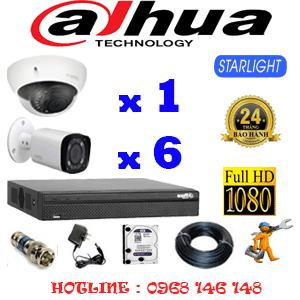 Lắp Đặt Trọn Bộ 7 Camera Dahua 2.0Mp (Dah-2117618)-DAH-2117618