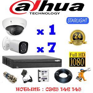 Lắp Đặt Trọn Bộ 8 Camera Dahua 2.0Mp (Dah-2117718)-DAH-2117718