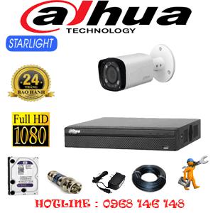 Lắp Đặt Trọn Bộ 1 Camera Dahua 2.0Mp (Dah-211800)-DAH-211800
