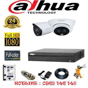 Lắp Đặt Trọn Bộ 2 Camera Dahua 2.0Mp (Dah-2121122)-DAH-2121122