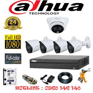 Lắp Đặt Trọn Bộ 5 Camera Dahua 2.0Mp (Dah-2121422)-DAH-2121422