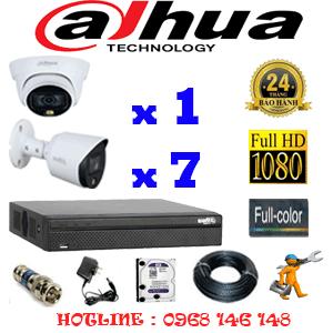 Lắp Đặt Trọn Bộ 8 Camera Dahua 2.0Mp (Dah-2121722)-DAH-2121722