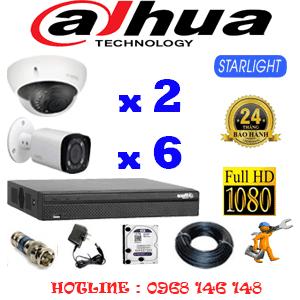 Lắp Đặt Trọn Bộ 8 Camera Dahua 2.0Mp (Dah-2217618)-DAH-2217618