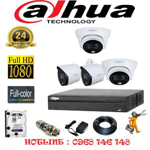 Lắp Đặt Trọn Bộ 4 Camera Dahua 2.0Mp (Dah-2221222)-DAH-2221222