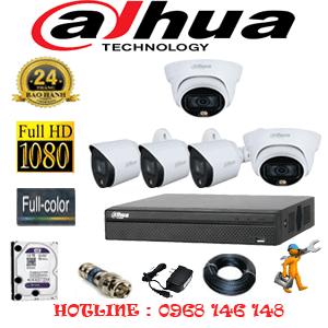 Lắp Đặt Trọn Bộ 5 Camera Dahua 2.0Mp (Dah-2221322)-DAH-2221322