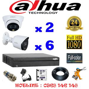 Lắp Đặt Trọn Bộ 8 Camera Dahua 2.0Mp (Dah-2221622)-DAH-2221622