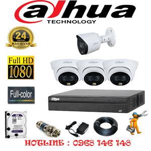 Lắp Đặt Trọn Bộ 4 Camera Dahua 2.0Mp (Dah-2321122)-DAH-2321122