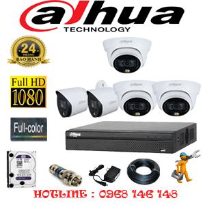 Lắp Đặt Trọn Bộ 5 Camera Dahua 2.0Mp (Dah-2321222)-DAH-2321222