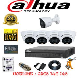 Lắp Đặt Trọn Bộ 5 Camera Dahua 2.0Mp (Dah-2421122)-DAH-2421122