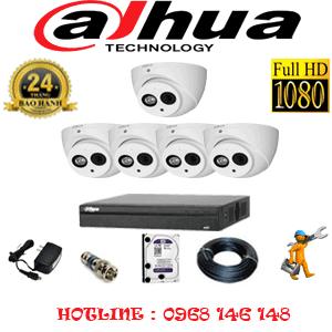 Lắp Đặt Trọn Bộ 5 Camera Dahua 2.0Mp (Dah-251900)-DAH-251900
