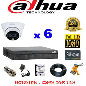 Lắp Đặt Trọn Bộ 6 Camera Dahua 2.0Mp (Dah-262100)-DAH-262100