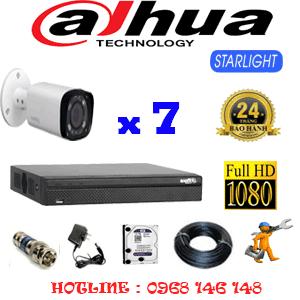 Lắp Đặt Trọn Bộ 7 Camera Dahua 2.0Mp (Dah-271800)-DAH-271800