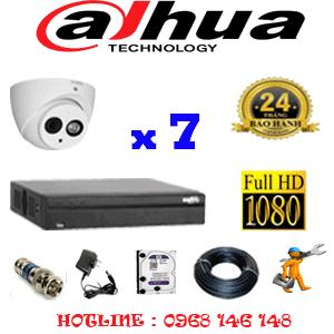 Lắp Đặt Trọn Bộ 7 Camera Dahua 2.0Mp (Dah-271900)-DAH-271900