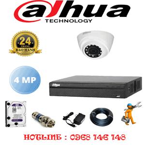Lắp Đặt Trọn Bộ 1 Camera Dahua 4.0Mp (Dah-412300)-DAH-412300