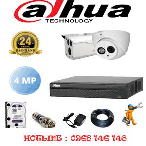 Lắp Đặt Trọn Bộ 2 Camera Dahua 4.0Mp (Dah-4125126)-DAH-4125126