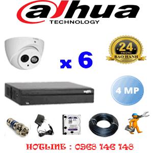 Lắp Đặt Trọn Bộ 6 Camera Dahua 4.0Mp (Dah-462500)-DAH-462500