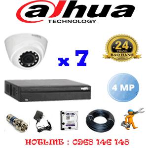Lắp Đặt Trọn Bộ 7 Camera Dahua 4.0Mp (Dah-472300)-DAH-472300